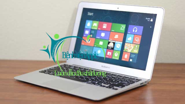 Cài đặt windows 8 cho macbook air