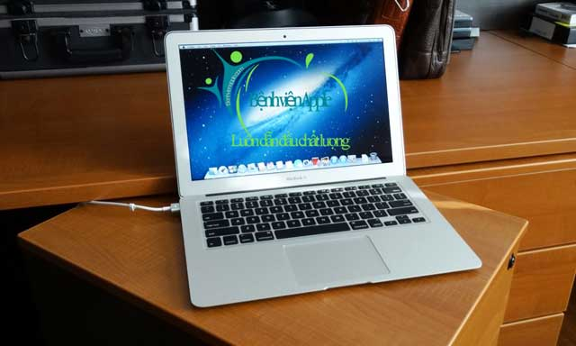 Cài đặt windows cho macbook air